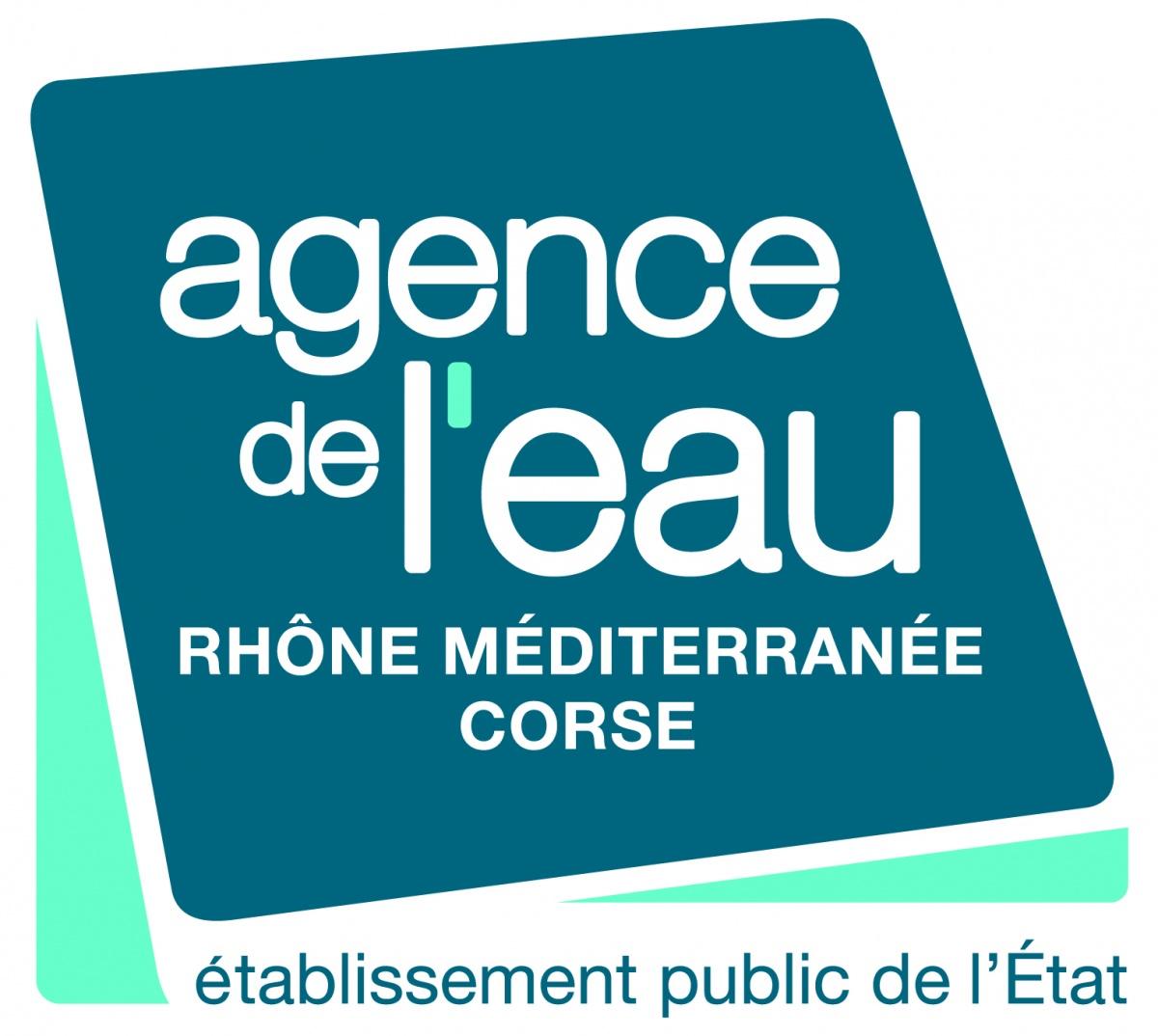 Logo du co-financeur Agence de l'eau Rhône-Méditerrannée Corse