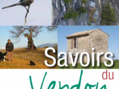 couverture du courrier scientifique du Parc naturel régional du Verdon