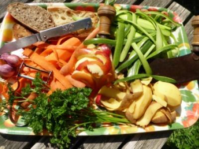 La cuisine des épluchures. crédit Parc du Verdon