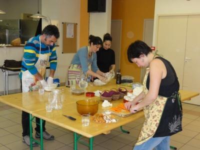 Atelier cuisine - crédit Parc du Verdon