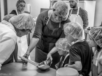 Atelier fabrication de fromage