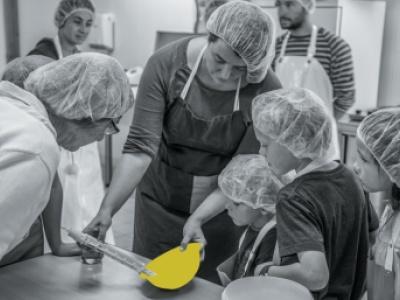 Faire du fromage à Valx