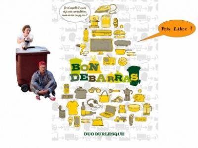 """spectacle - débat """"Bon débarras"""" de la Cie Champs libres organisé par l'association le Colibricole"""