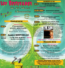 Programme des Festivades 2017